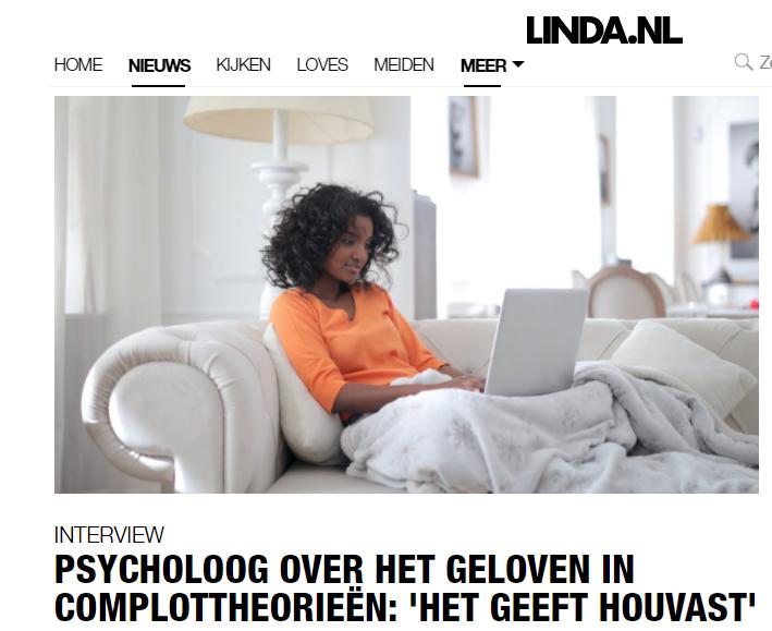 Interview LINDA.nl complottheorieën