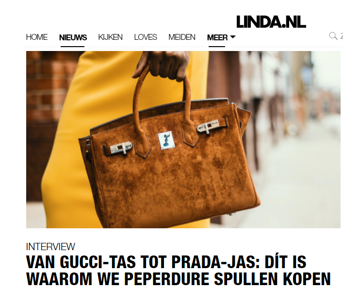 Interview LINDA.nl koopgedrag