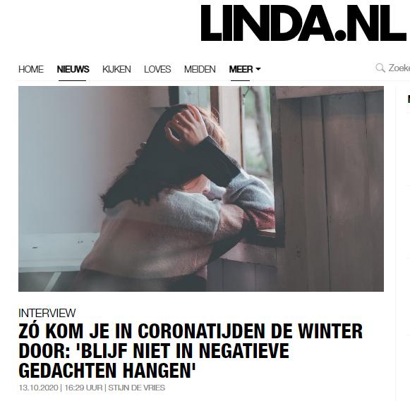 Interview LINDA.nl: in coronatijd de winter doorkomen